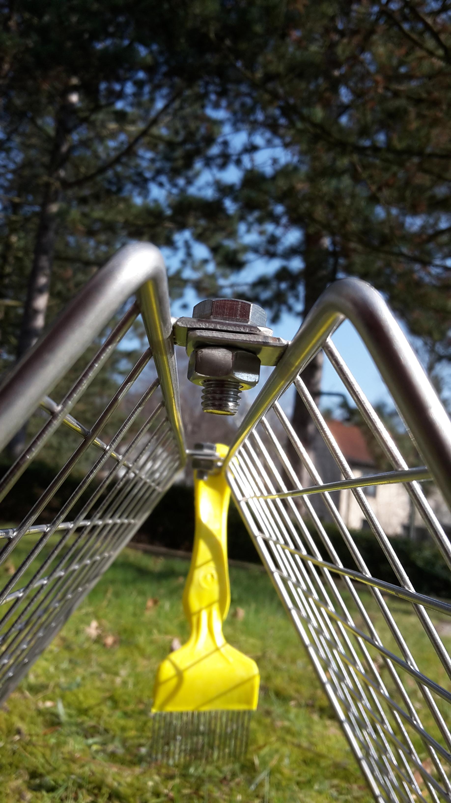 Handgetriebe mit langlebiger Bronzefassung